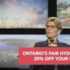Liberal government plan cuts hydro cost 25% for small business
