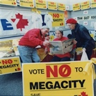 Mike Harris introduced the megacity 20 years ago, and the history has not been happy