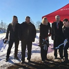 Councillors break ground for IQ Centre