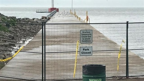 Town announces repair plan for waterfront